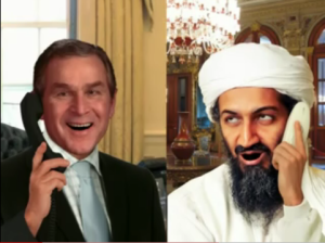 Bush and Osama (Tim Osman)