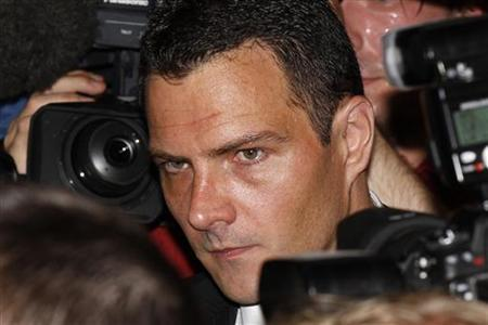 Former trader Kerviel arrives at Paris court for the start of his trial in Paris